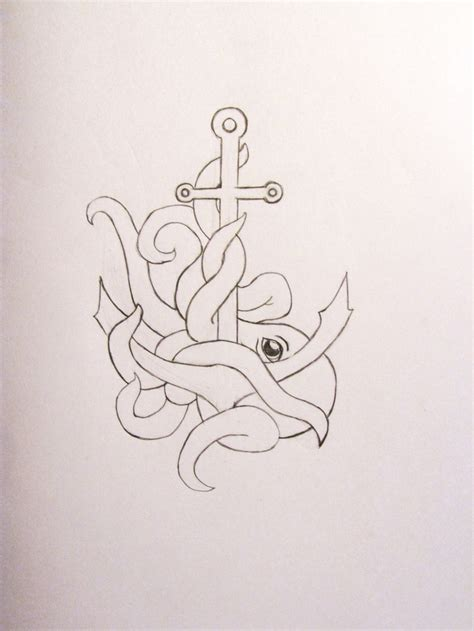 octopus anchor tattoo pin by lydia tadokoro on octopus