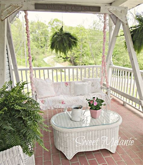 fabric porch swing pretty porch swing shabby chic vintage roccoco