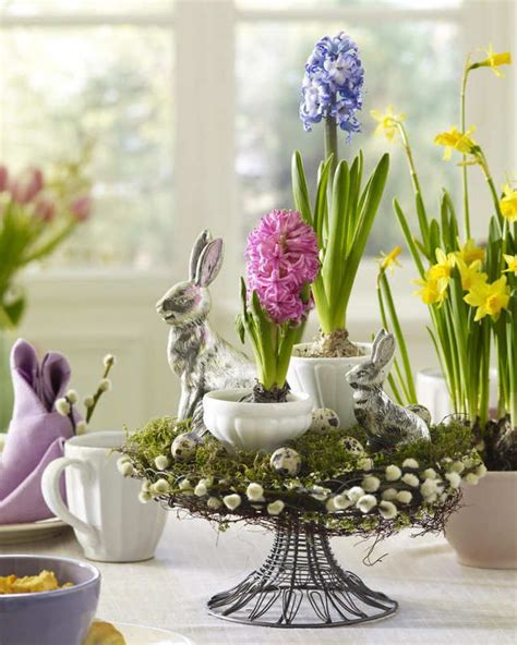 easter arrangements top 14 flower easter table centerpieces april home decor idea bored fast food