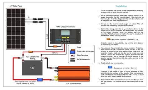 renogy solar panel wiring diagram renogy free engine
