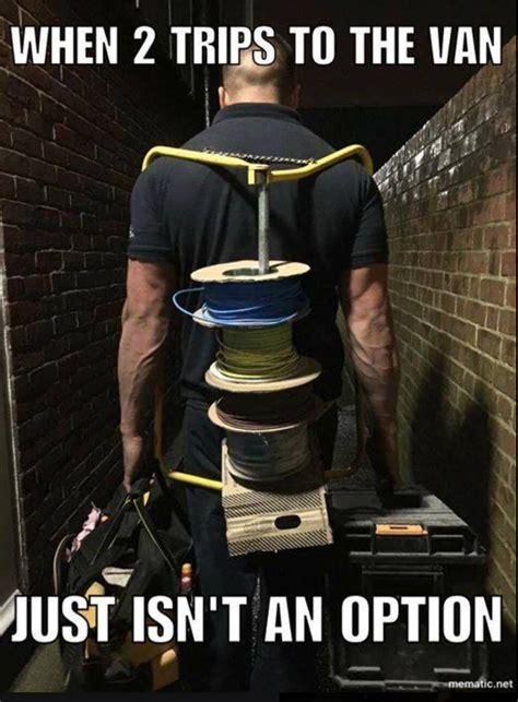 funny trade humor memes electrician electricians