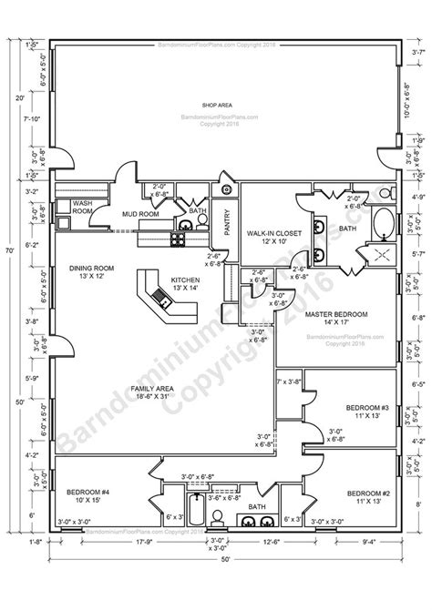 Pole Barn Floor Plans by 25 Best Ideas About Barn House Plans On Pinterest Barn