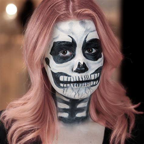 tutorial skull skull costume makeup images