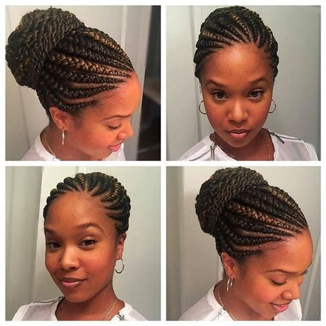 simple elegant cornrows 40 hip and beautiful ghana braids styles banana braids
