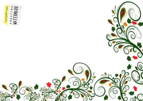 design flower side simple side border designs cliparts co flower designs