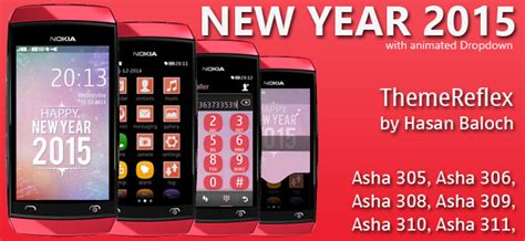 www new themes nokia asha 309 com happy new year 2016 countdown themes for nokia series 40