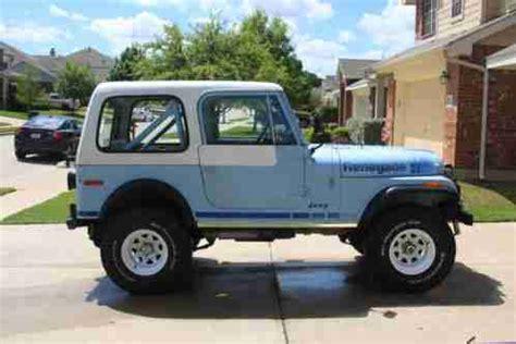 Jeep Quadra Trac Jeep Cj Cj7 Renegade 1979 7 Quadra Trac Awd That Has Been