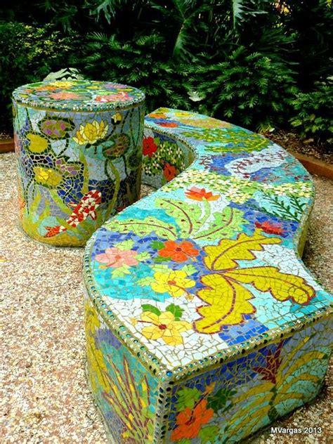 Garden Mosaic Ideas 119 Best Mosaic Garden Designs Images On