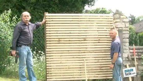 comment faire une cloture 4270 cl 244 turer une cour avec des panneaux ou piquets de bois
