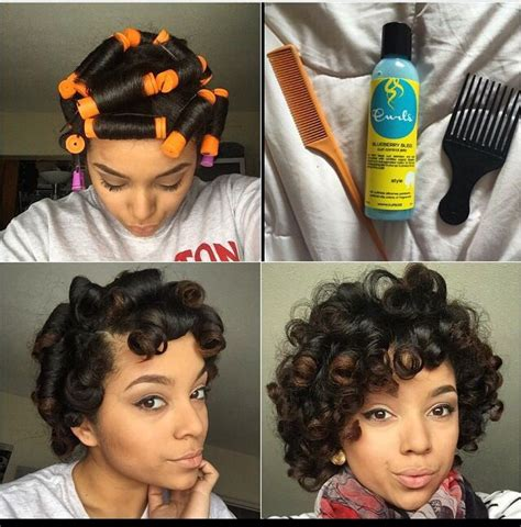 stranded rods hairstyle 10 best perm rods images on pinterest natural hair