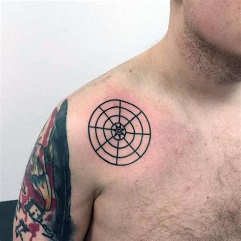 sphere tattoo designs 90 circle designs for circular ink ideas