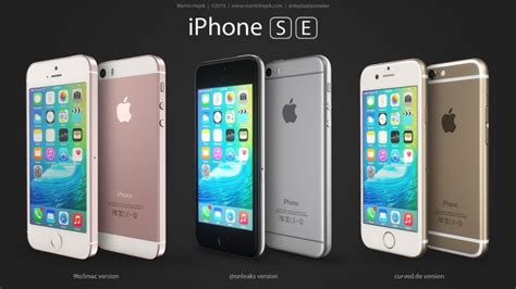 iphone se iphone se design possibilities compared in new renderings mac rumors