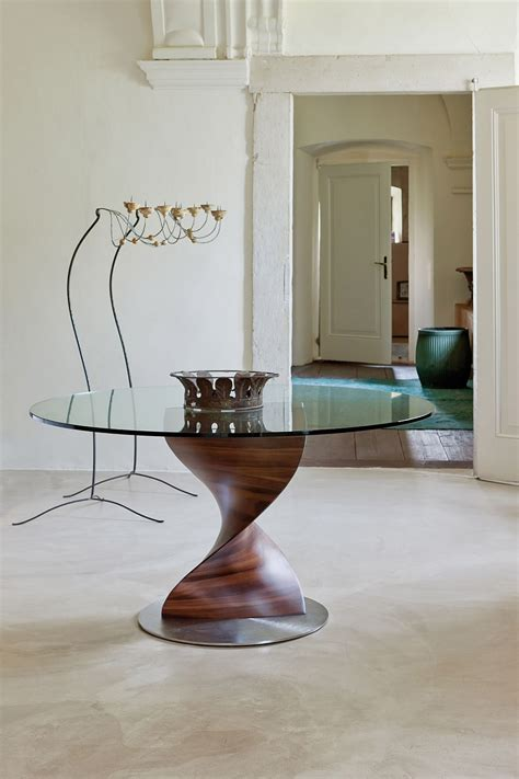 Unique Dining Table Bases Amazing Contemporary Dining Tables The Show With A Sculptural Base