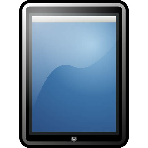 Tablet Apple file tablet apple svg wikimedia commons