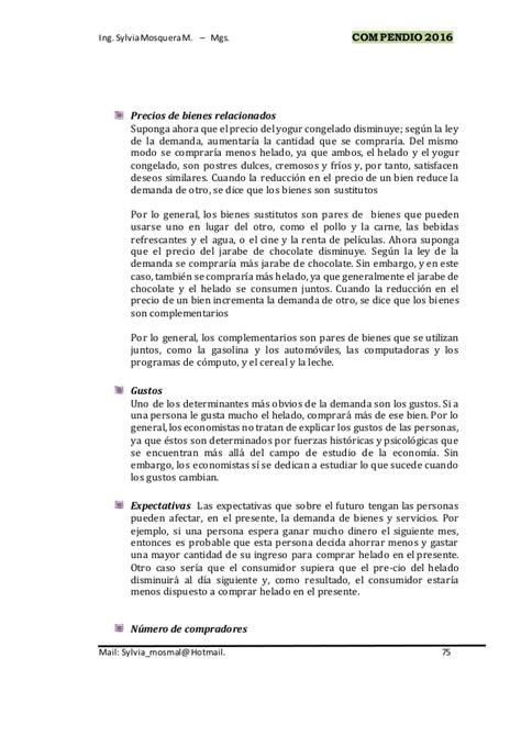 COMPENDIO DE ECONOMÍA - UNIDAD IV