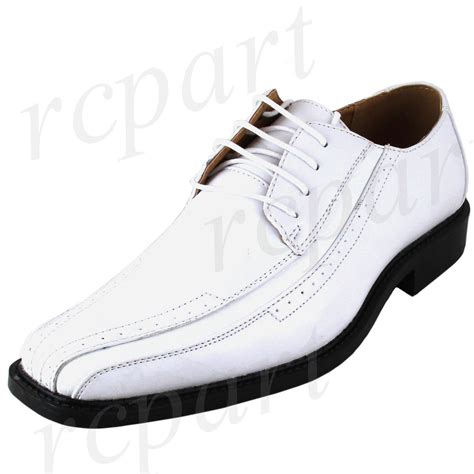 new s dress shoes fashion solid lace up style white