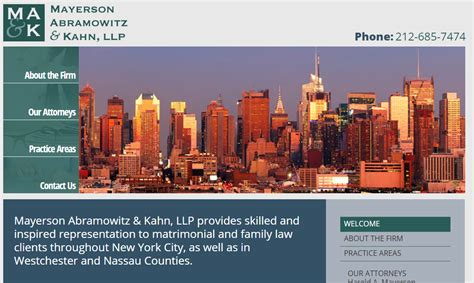 New York State Domestic Relations Section 11 by Top Firms In New York