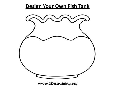 Coloring Page Fish Bowl by Fish Bowl Coloring Page Printable Coloring Home