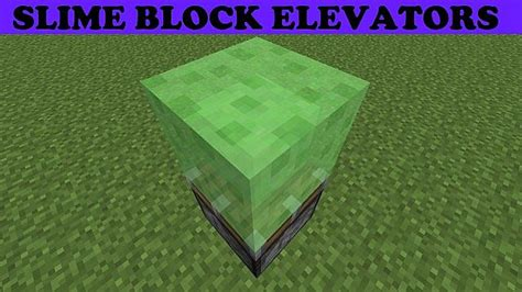 Slime Block Tutorial Cubehamster | redstone tutorial how to make slime elevator minecraft 1