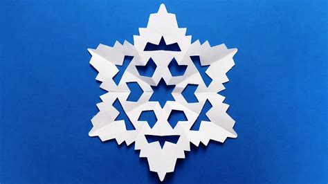 Make Snowflake Out Of Paper - paper snowflake easy tutorial make snowflakes out of