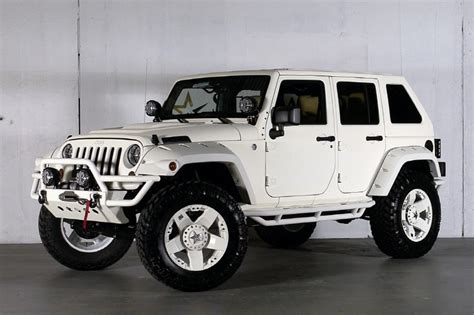 Custom Jeeps For Sale In Custom White Jeeps For Sale Autos Post