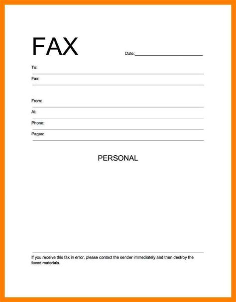 ms word fax template 9 blank cover sheet xavierax