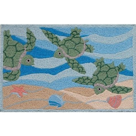 Jelly Bean Indoor Outdoor Rugs Jellybean Sea Turtle Indoor Outdoor Rug
