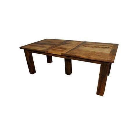Reclaimed Wood Extension Dining Table Rustic Reclaimed Barn Wood Extension Table