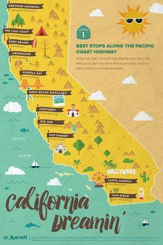 California Pch Itinerary - pacific coast highway costa del pac 237 fico and california on pinterest