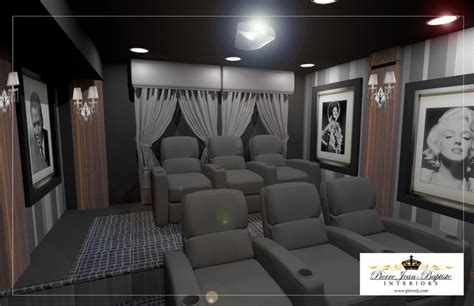 theater design basement remodel