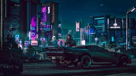 cyberpunk   ps wallpapers playstation universe