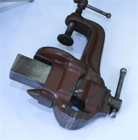 stanley bench vice vintage tools stanley no 761 vise 700cu sold