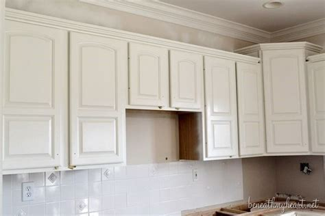 How To Paint Existing Kitchen Cabinets Painting Kitchen Cabinets White