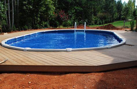 inground pool kits above ground pools swimming pools above ground pools semi inground pool design ideas
