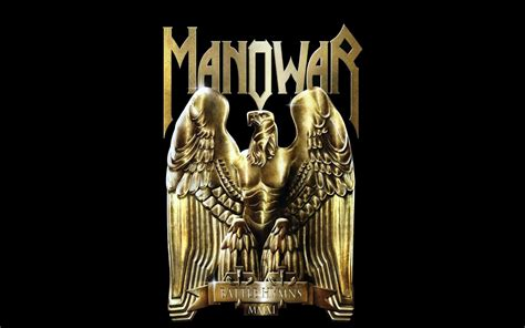 Manowar Heavy Metal manowar heavy metal logo bands wallpaper 1920x1200