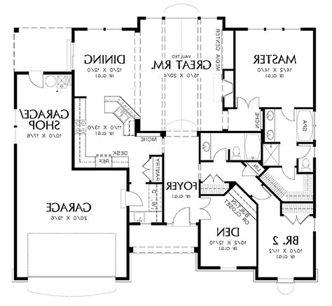 how to draw house floor plans architectural floor plan home design there clipgoo