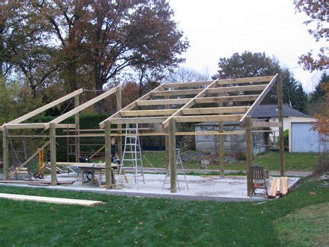 fabricant hangar bois comment construire garage en bois