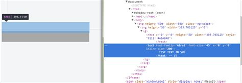 javascript text layout svg text above rect strange layout javascript codedump io