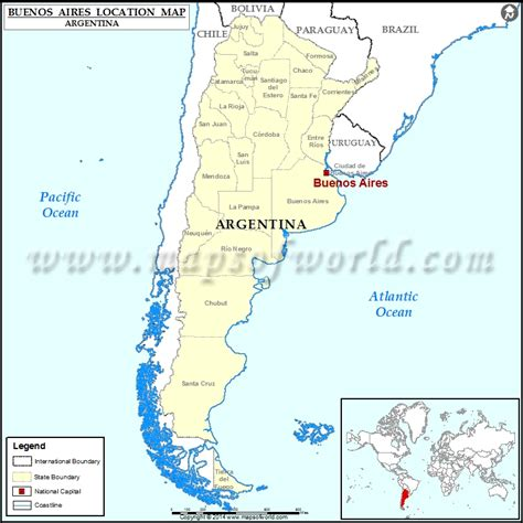 buenos aires map where is buenos aires location of buenos aires in argentina map