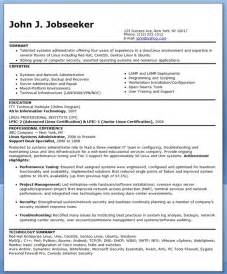 sample systems administrator resume experienced resume