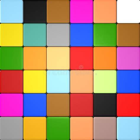 farbige fliesen farbige fliesen stock abbildung bild dekoration