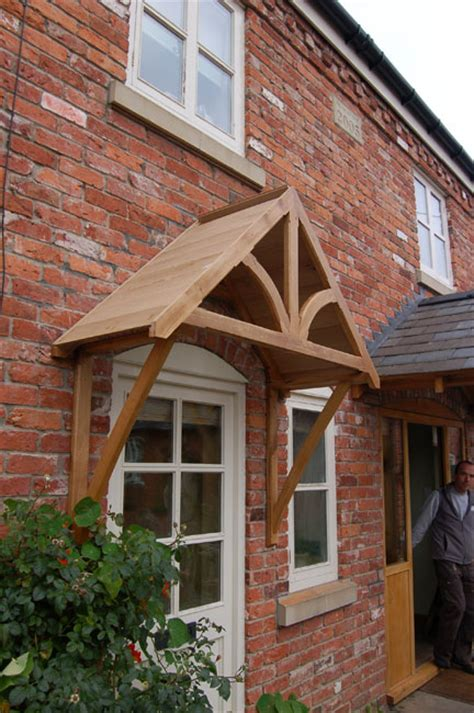 Front Door Canopy Uk Blakemere Oak Door Canopy Shropshire Door Canopies