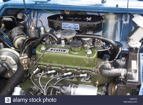 Mini Cooper Motor by Classic Mini Engine Stock Photo 72340445 Alamy