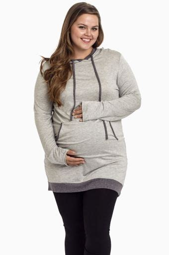 Hooded Maternity Pullover maternity hooded sweatshirts cool shirts
