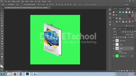 membuat garis di adobe photoshop cs3 cara membuat desain buku 3d di adobe photoshop part 2