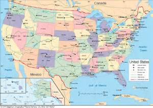 maps of united states maps