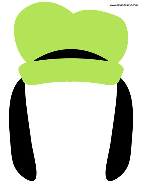 goofy hat template the gallery for gt goofy hat printable