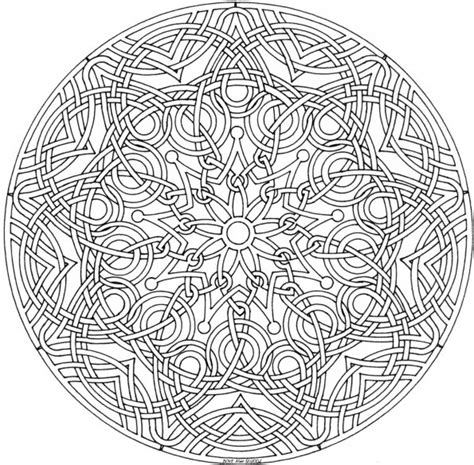 coloring pages designs mandala mandala madness celtic mandala to color
