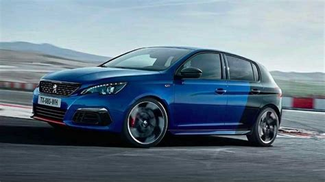 peugeot 308 gti peugeot 308 gti facelift photo accidentally published