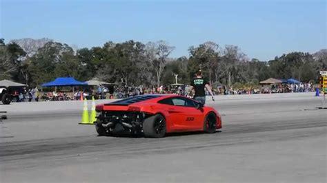 Lamborghini Youtube Crash by 2 000hp Twin Turbo Lamborghini Crash Youtube